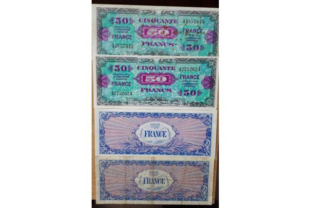 Billet de 50 francs 1944