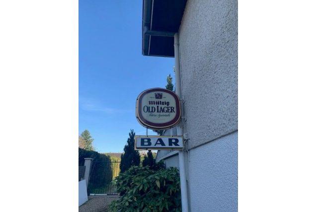 Enseigne vintage de Bar Mutzig