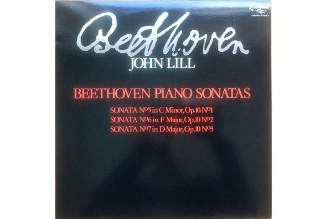 Beethoven vynile 33 tours piano sonatas john Lill