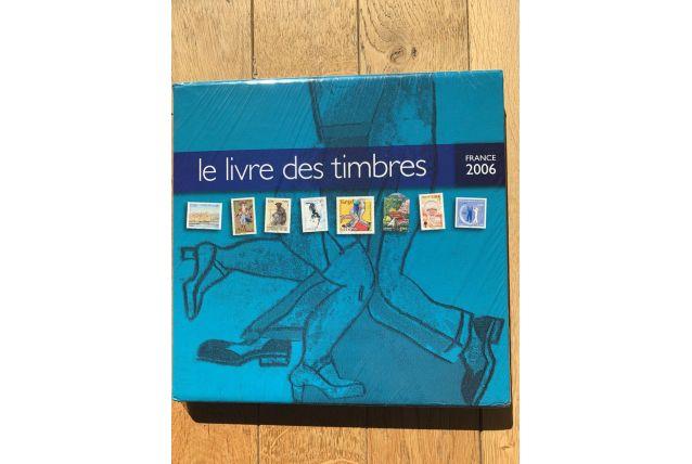 Le livre des timbres France 2006 La Poste
