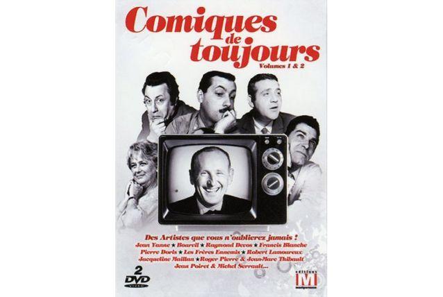 DVD Comiques de toujours Volumes 1 & 2