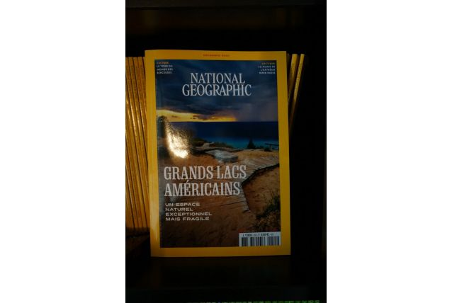 national géographique du N° 1 au N° 255