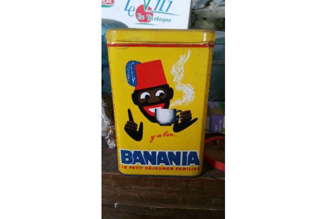 "Boite Banania ""pâtes"""