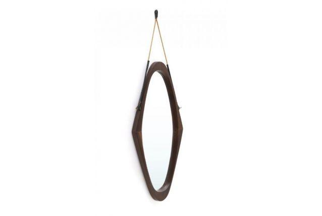 Miroir en bois paolo Buffa