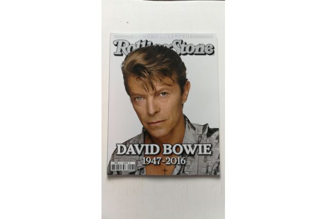 RollingStone collector David Bowie