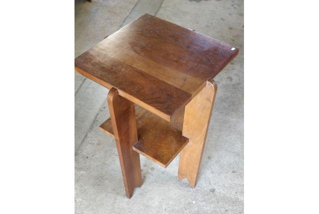Table guéridon vintage