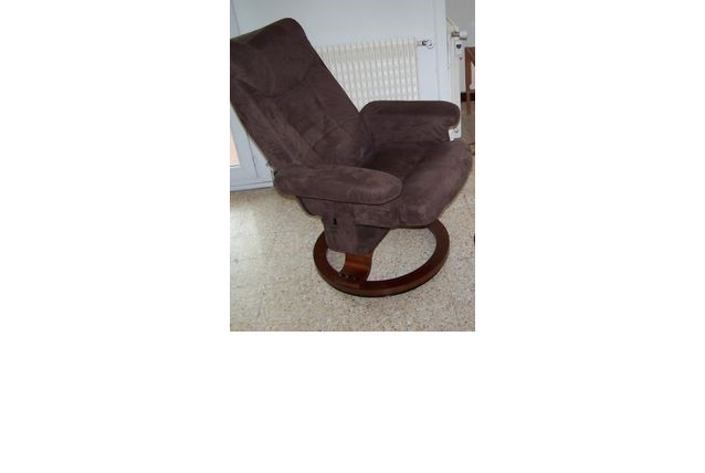 fauteuil de relaxation avec base tournante