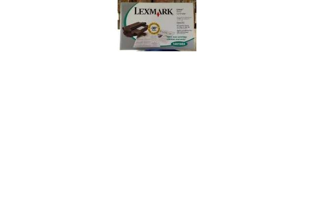 TONER Cartouche Lexmark 140198X Extra long +30%