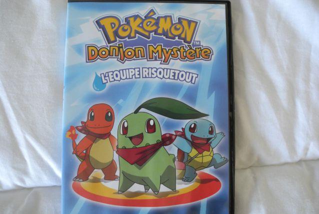 """DVD Pokémon """"Donjon Mystère"""""""
