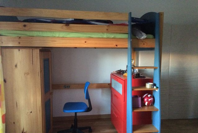Vend mezzanine bois massif