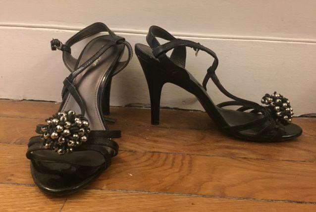Sandales Calvin Klein noires T38