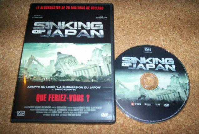 DVD SINKING OF JAPAN film catastrophe gigantesque