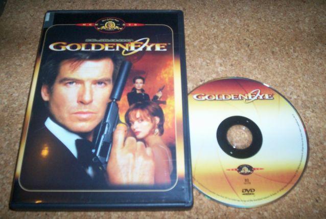 DVD GOLDENEYE JAMES BOND