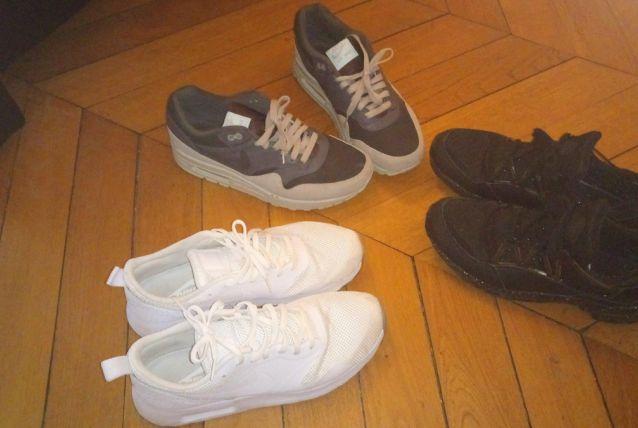 lot de 3 paires de baskets air max