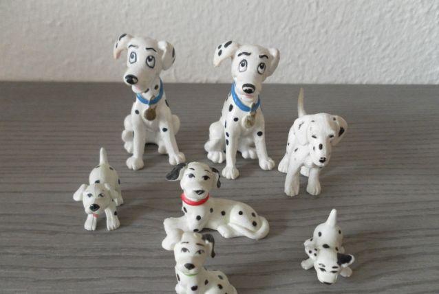 Figurines dalmatien