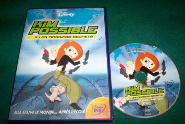 DVD KIM POSSIBLE edition disney dessin animé