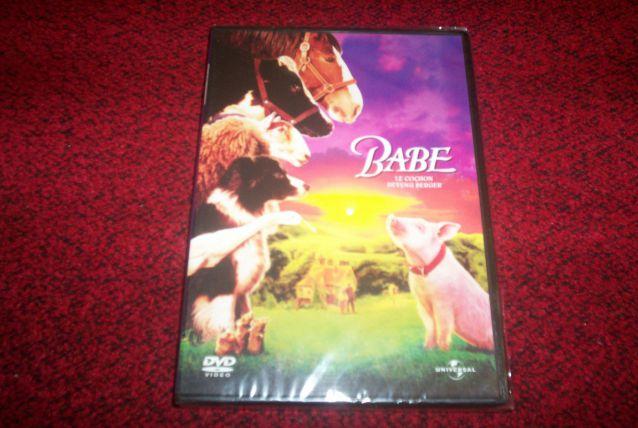 DVD BABE le cochon devenu berger NEUF