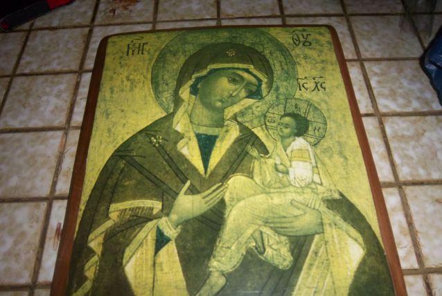 tableaux reliquaire grec