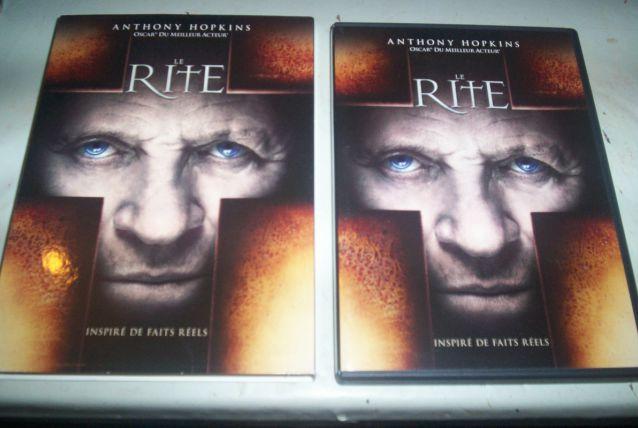 DVD THE RITE EXORCISME AU VATICAN HISTOIRE VRAIE