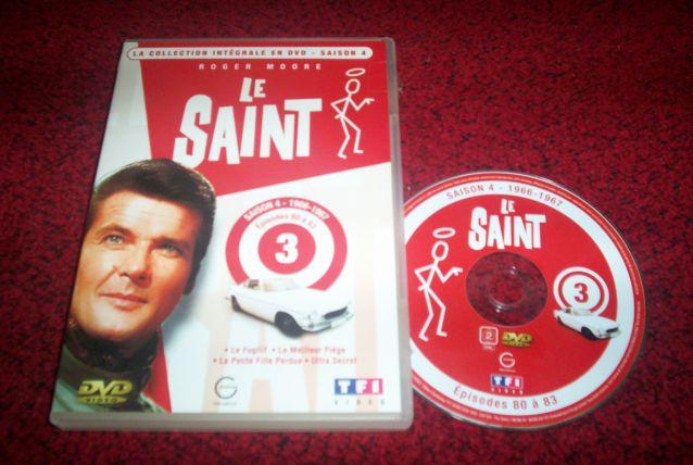 DVD LE SAINT avec roger moore série tv