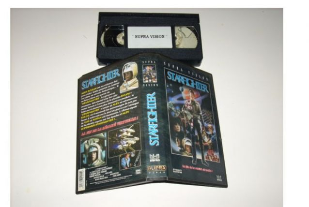 CASSETTE VHS STARFIGHTER