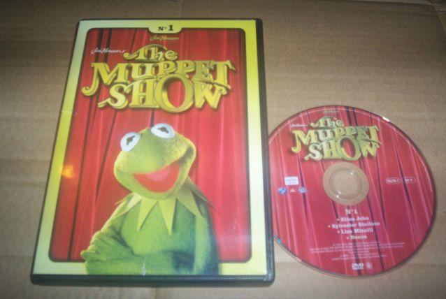 dvd muppets show avec sylvester stallone