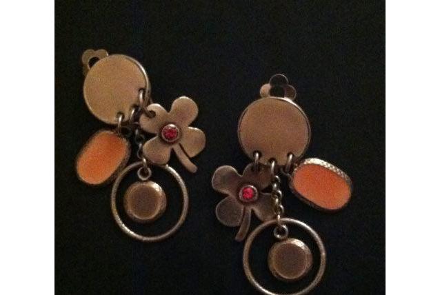Boucles d'oreille clips