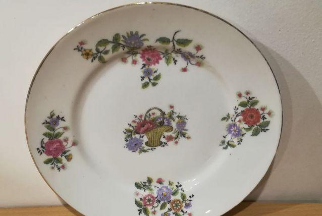 Assiette porcelaine 19ème