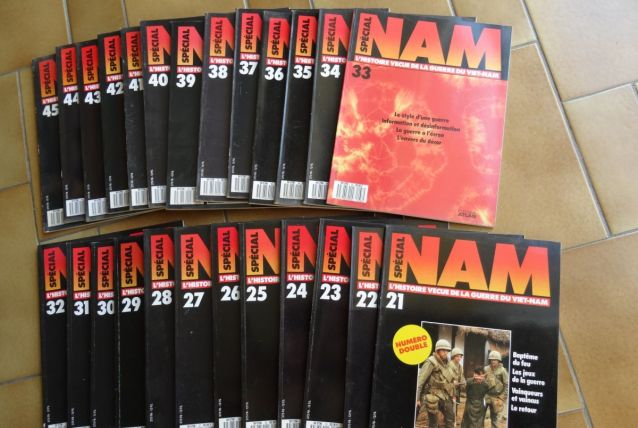 revue SPECIAL NAM  - Histoire vécue de la guerre du Vietnam