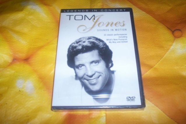 dvd tom jones sounds in motion 22 titres neuf