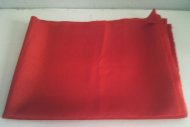 Tissu rouge polyester nylon neuf