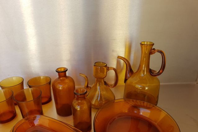 Lot 26 pièces vaisselle vintage