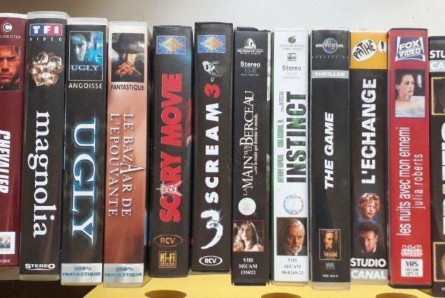 Diverses K7 VHS thriller, horreur,suspens