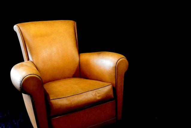 fauteuil club années 40
