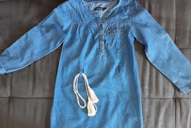 Tunique bleu