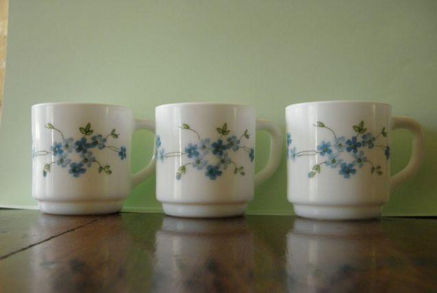 Lot de 3 tasses à café