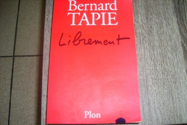 Livre Bernard Tapie