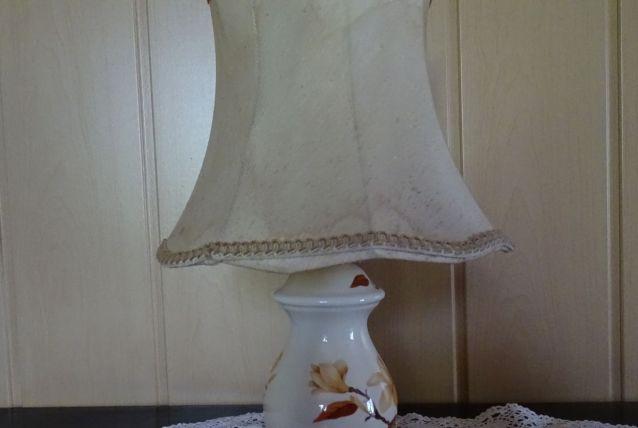 lampe pied porcelaine