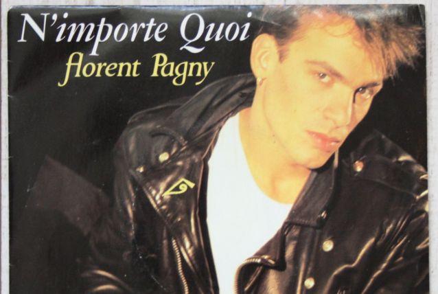 "Vinyl 45t FLORENT PAGNY ""N'importe quoi"""