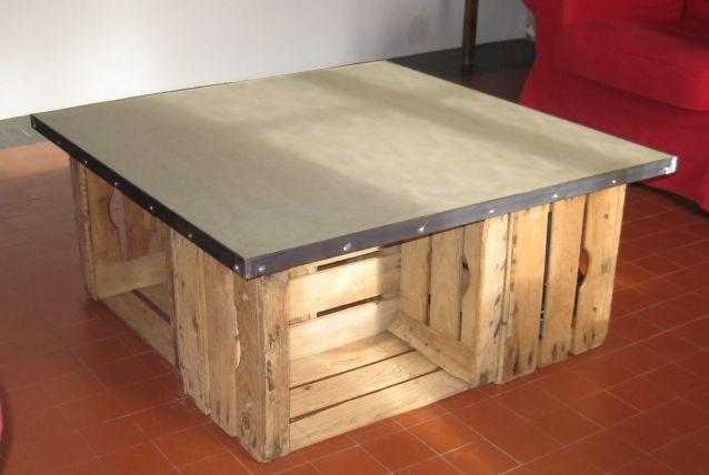 Table Basse Plateau Béton