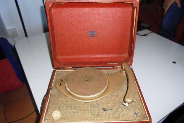 ELECTROPHONE MARCONI À LAMPES 50'S