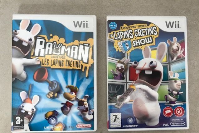 2 jeux Wii