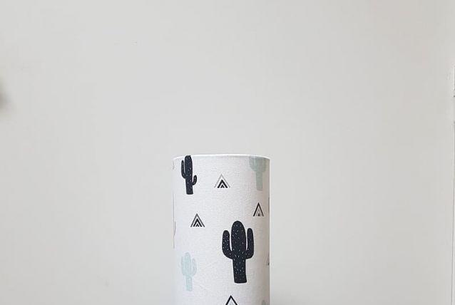 """Lampe tube à poser """"Cactus"""""""