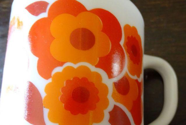 mug mobil fleur flower power