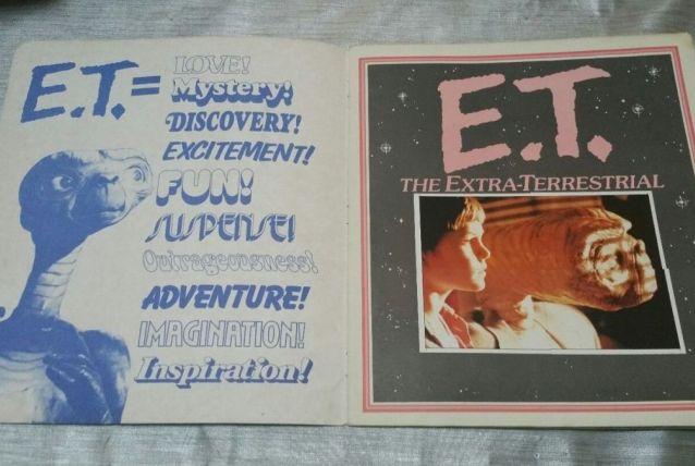 """ALBUM PANINI    """"E.T"""""""