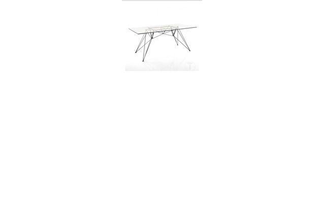 Table neuve design italien verre trempe