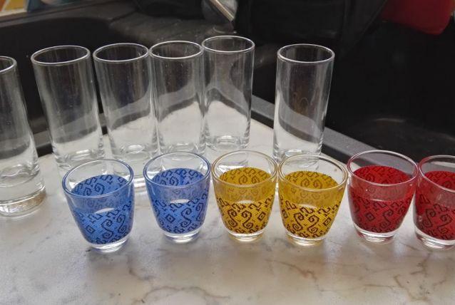 Lots petits verres