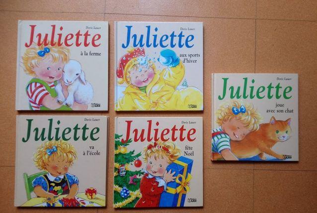 Lot de 5 livres série Juliette