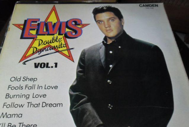 33T/LP  ELVIS PRESLEY  DOUBLE DYNAMMITE VOL1  UK