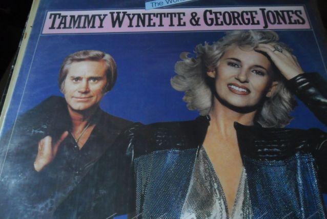 33T  TAMMY WYNETTE&GEORGE JONES  THE WORLD OF  HOLLANDE